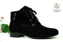 High quality winter latest fashion design half boot fashion lady shoe