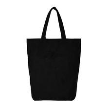 2015 cheap blank black can printed shopping bag,canvas handbag of shopping