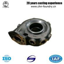 Turbocharger Carbon Steel Soluble Glass Casting Concrete Pump Spare Parts
