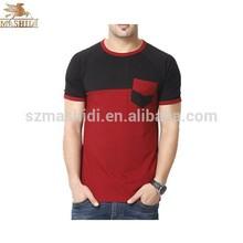 newest fashion bamboo fiber t shirt for men