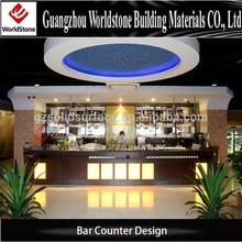 led bar table/commercial bar sale