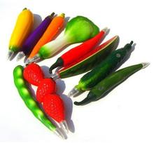 Vegetables design promotional plastic pen