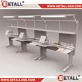 Ligne d'assemblage travail tables