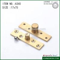 Brass central axis adjust shower door pivot hinge