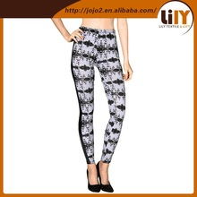 Made from our very comfortable basic nylon / spandex blend tie dye leggings with side PU