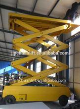 Jinchuan Brand new arrival hydraulic self propelled scissor lift