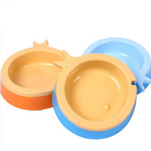 Hard Plastic Durable Fish Shaped Pet Bowls&feeders