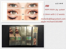 Selling Like Crazy! FEG private label cosmetic companies eyelash serum test cosmetics wholesale lots 9 tubes package