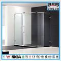 económico de la ronda 900cm 6mm llanura cuarto de baño de vidrio mm 6 puerta de la ducha