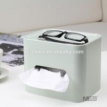 2015 New Type Rectangular Plastic Tissue Box