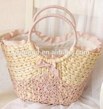 Yiwu market most popular factory wholesale hard bags fancy lace decorative drawstring handmade nice handbags