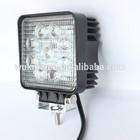 12v Led Work Lamp, Led off road lights, 27w Led Tractor working lights