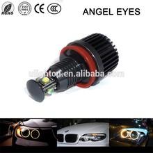 2x60W high power led angel eyes super bright 6000K-6500K car led light angel eyes fog lamp