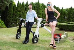 electronic scooter made in China Lightweight 30kg Popular around the world with 48v 12Ah lithium polymer battery
