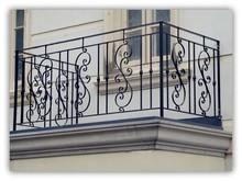 Handrail/balustrade/fence classic galvanized steel railing