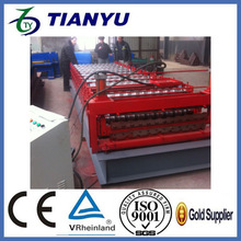 double layer roll forming making machine use for russia Wall and roof used