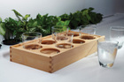 Design wooden serving tray
