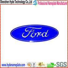 Aluminum Electroformed custom car logo metal badge