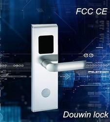 Smart new type electronic swipe card locks