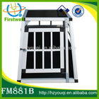 sturdy and secure dog house aluminium pet cage hot sales