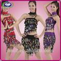 profissional sexy lantejoulas brilhando meninas trajes da dança