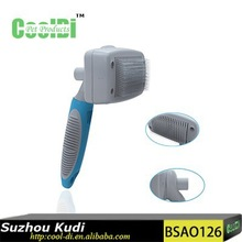 New grooming products pet self cleaning hair slicker brush