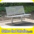 keenhai custom made açoinoxidável rústico jardim bench