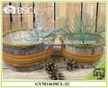 casa vacanze decorazione corteccia di betulla e feltro vaso di fiori
