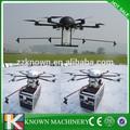 Não tripulados de pesticidas agricultura máquina de pulverização, helicóptero do rc para pulverização de pesticidas
