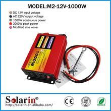 2015 hot sale 1500 watt 12v power 220 solar inverter