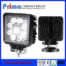 Spot/Flood beam 4.3 Inch IP67 new 12v 24v 27w car led tuning light led work light 27w 2160LM, offroad led spot light