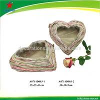heart shaped flower pot for grave