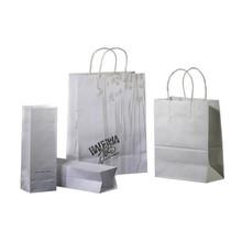 Printed kraft cloth shopping paper bag