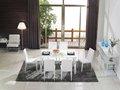 Mesa de vidro cozinha cadeira com preço baixo ct301+cy301