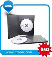 Wholesale cheap plastic black DVD cases 7mm