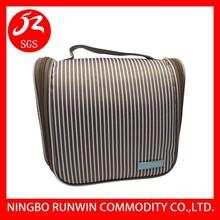 2015 New Waterproof PU Leather Traveling Cosmetic Bag