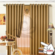 latest room divid grommet ready made blackout curtain