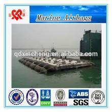 High strength ship repair accessories marine rubber airbag, watercraft lifting airbag