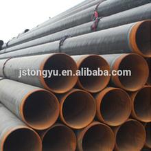 Large diameter European standard sewer Spiral Welded Steel Pipe meaning seamless pipe