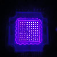 Factory Price Epistar Chip 100w High Power Ultraviolet LED 380nm 385nm 390nm 395nm 400nm 405nm 410nm 415nm 420nm 430nm