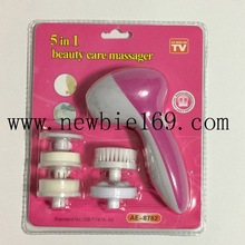 Beauty Spa Pore Cleansing Face Massager 5 in 1 Beauty Care Massager