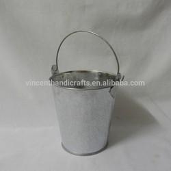 metal plant metal wholesale hanging mini metal flower pot craft tin flower pot