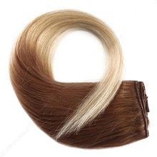 Factory direct wholesale premium quality 100% real human brazilian colored three tone hair weave