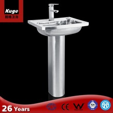 CE Approved 304 grade stainless steel hand wash basin price