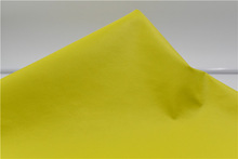 Zero-solvent leather/garment leather G42-0.6 yellow/finished leather