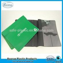 New design PVC car document holder, plastic car documet folder