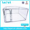 wholesale iron blue portable folding dog cage