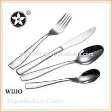 elegant restaurant 18/0 stainless steel spoon fork knife set