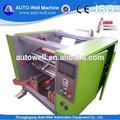 Automático folha de alumínio rolo rewinding máquinas