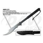 """27.56"""" overall length black nylon fiber handle (4MR6-275) machete"""